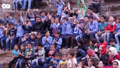 """Photo of اختتام حملة العودة إلى التعليم التوعوية تحت عنوان """"العلم يحميني"""""""