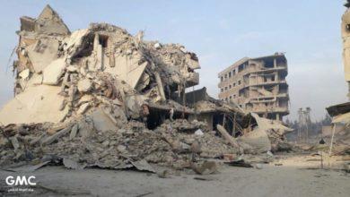 Photo of نظام الأسد وحلفاؤه يواصلون حرب الإبادة في الغوطة الشرقية .. ارتفاع عدد الشهداء إلى 31 مدنيًا