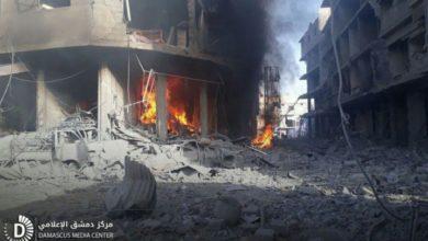 Photo of نظام الأسد يستبعد لوازم طبية من قافلة متوجهة إلى الغوطة الشرقية