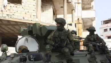 Photo of الشرطة الروسية تخلي نقاط لها في ريف درعا