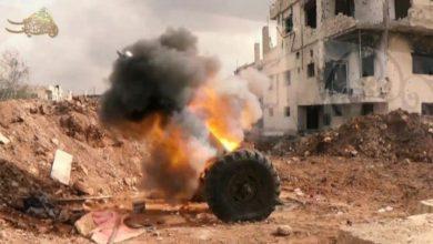 """Photo of """"البنيان المرصوص"""" تحذر قوات الأسد من استمرار التصعيد العسكري في درعا"""
