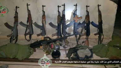 """صورة عملية أمنية لـ""""صد البغاة"""" توقع قتلى في صفوف """"جيش خالد"""" غرب درعا"""