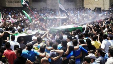 Photo of حصيلة شهداء محافظة درعا لشهر أيّار / مايو من العام 2018