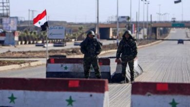 """صورة حواجز أمنية جديدة لقوات الأسد في مناطق نفوذ """"الفيلق الخامس"""" شرق درعا"""