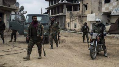 Photo of بعبوة ناسفة.. تدمير باص مبيت لقوات الأسد شرقي درعا