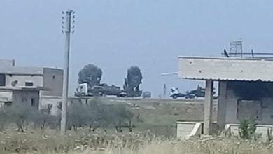 صورة تعزيزات عسكرية جديدة إلى محافظة درعا