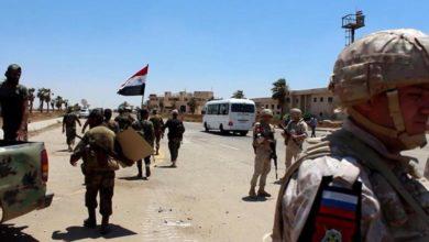 Photo of تدريب مجموعات محلية لحماية درعا بإشراف الفيلق الخامس