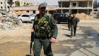 صورة انسحابات للفرقة الرابعة غرب درعا تزامناً مع إعادة تفعيل مخفرين للشرطة
