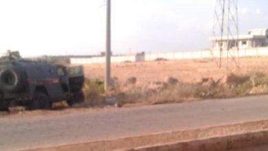 صورة تفجير يستهدف مصفحة روسية شرق درعا.. واعتقالات واسعة عقب التفجير!
