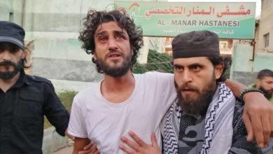 صورة مشادة كلاميّة تنتهي بضرب منشد في الثورة بريف حلب